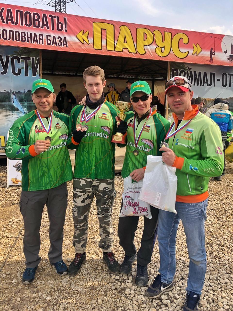 Соревнования: Итоги Чемпионата Московской области 2019 по ловле спиннингом с берега