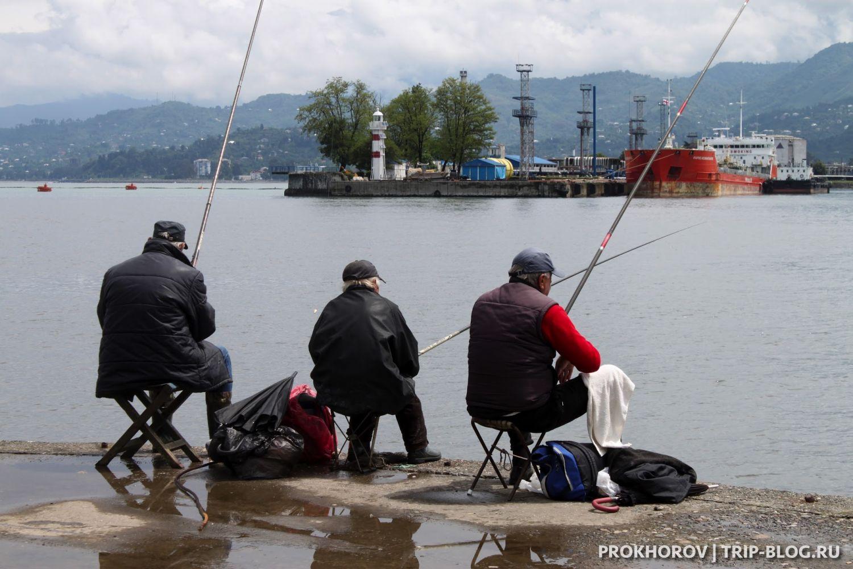 В мире: В парке Батуми ввели запрет на рыбалку
