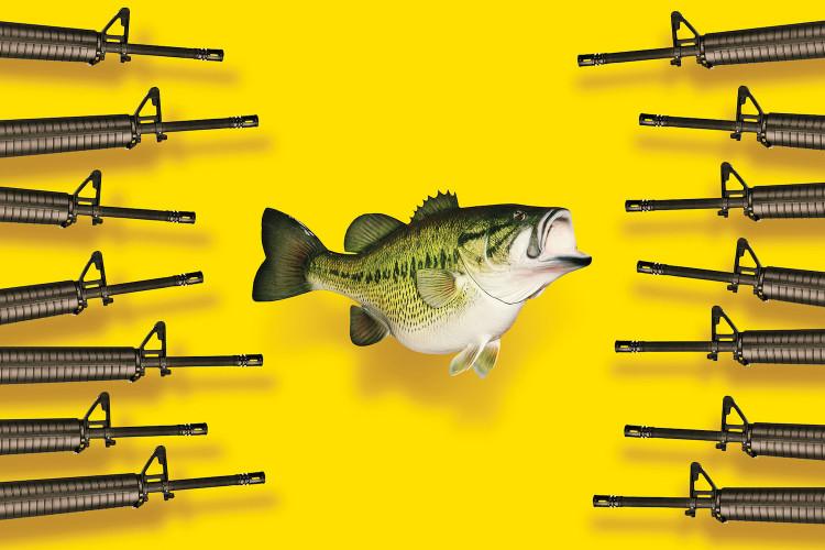 Как сокращение запасов рыбы может спровоцировать международный военный конфликт (Иллюстрация Мэтта Чейза для внешней политики)