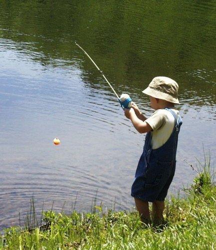 Рыбалка в детстве