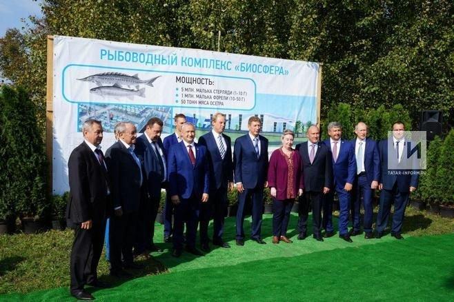 Проект станет первой ласточкой в развитии большого рыбоводства в Республики Татарстан