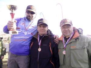 Отчет Чемпионат МО по ловле спиннингом с берега 2017
