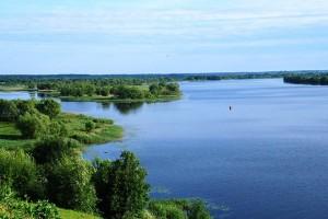 Уровень воды в реке Волка