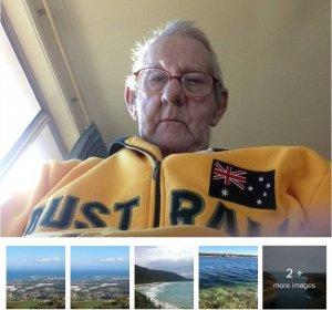 75-летний австралийский пенсионер Рэй Джонстоун