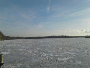 Первый лёд!