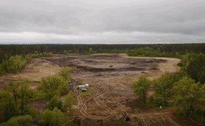 Здесь будет озеро Лебяжье: как проходит экореабилитация уникального водного объекта (Видео)