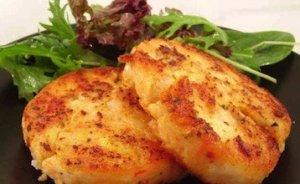 Рецепт: Рыбные котлеты рецепт с творогом