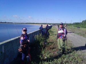 Чемпионат Липецкой области спиннинг берег