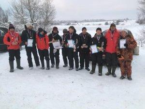 Отчет о рыбалке: Чемпионат Кузнецкого района. Первый лед