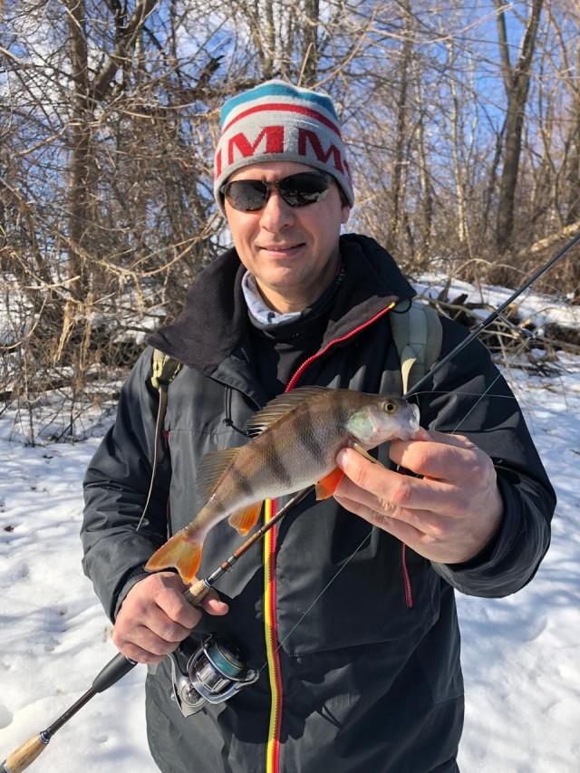 Отчет о рыбалке: С микроджигом по Москва-реке