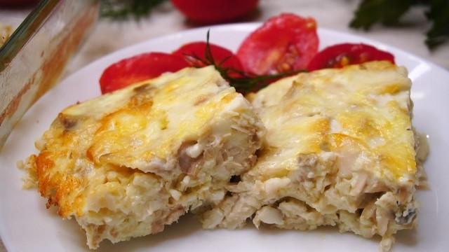 Рецепт: Рыба в омлете - очень вкусно (ВИДЕО)