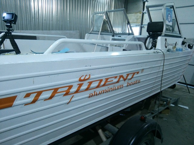 Осенние итоги весенних обновлений Trident 450 fish