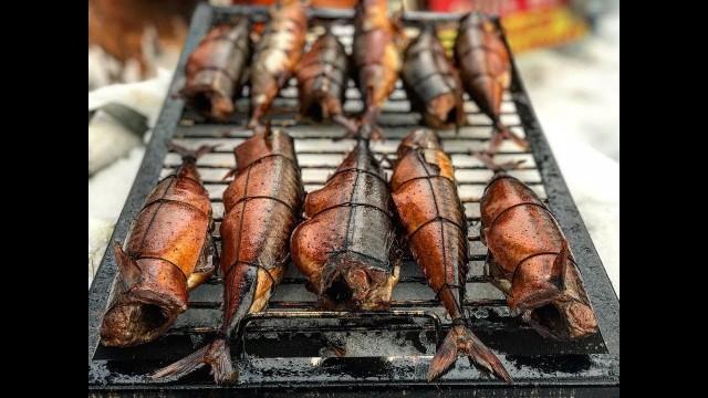 Рецепт: Рыба Горячего Копчения (ВИДЕО)