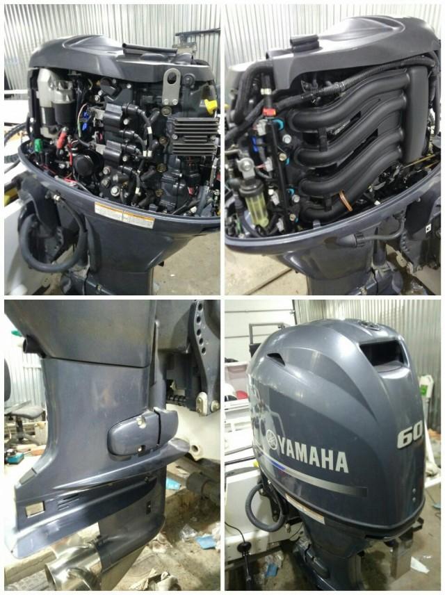 Yamaha F60 FETL - сезонная замена масла, фильтра и свечей